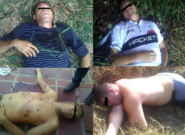 Cuatro muertos tras asalto frente a la casa de Rafael Lacava
