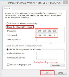 Cara Merubah IP Address