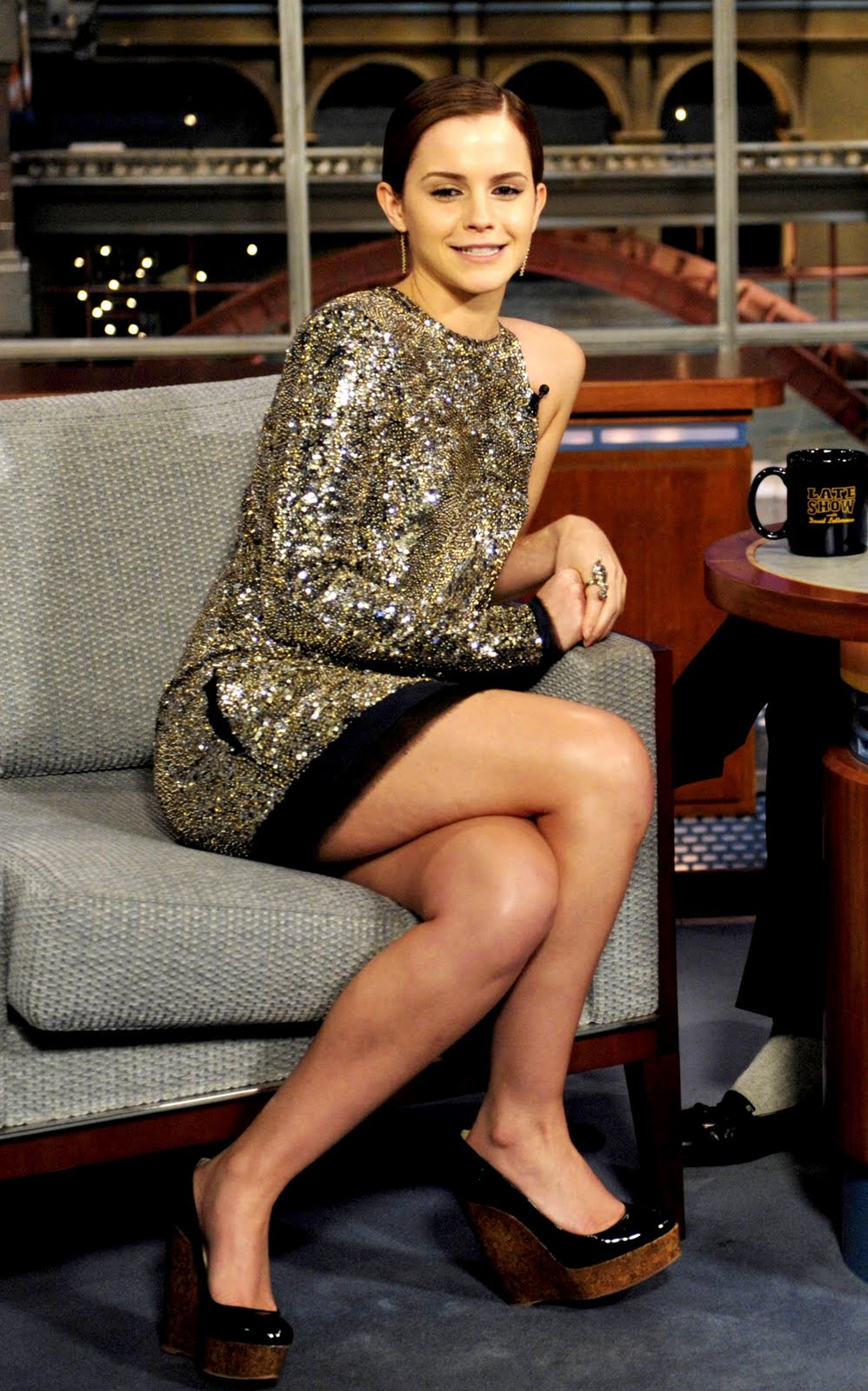 Kks Girl Wallpaper Emma Watson Updates Emma Watson During The Late Show With