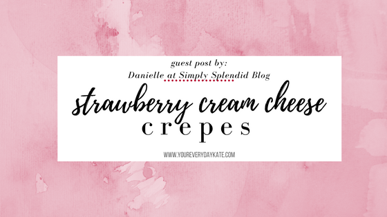 recipe strawberry cream cheese crepes