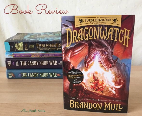 Brandon Mull new fantasy book Dragonwatch