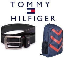 Tommy Hilfiger Belts, Wallet & Backpacks – Minimum 50% Off (Limited Period Deal)