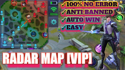 Script Radar Map VIP No Banned Terbaru Patch Guinevere Mobile Legends