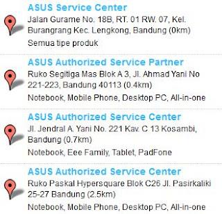 Service Center ASUS bandung