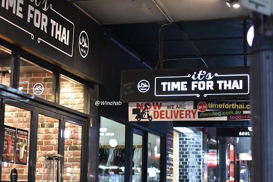It's Time For Thai Halal Newtown