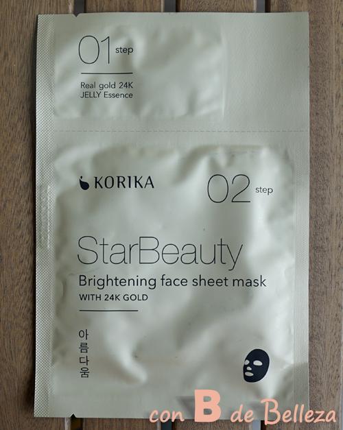 Starbeauty Mascarilla oro