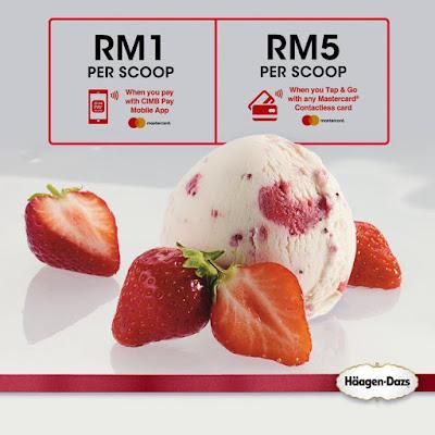 Häagen-Dazs Malaysia Ice Cream Scoop Discount Promo