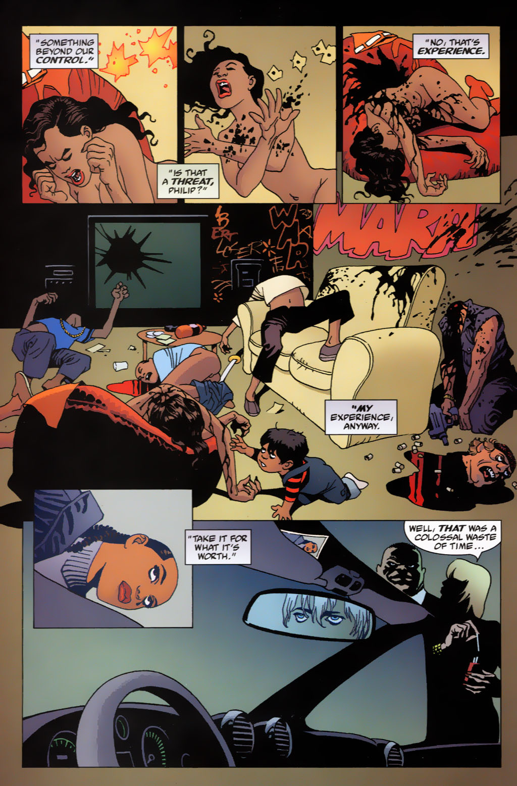 Read online 100 Bullets comic -  Issue #63 - 21