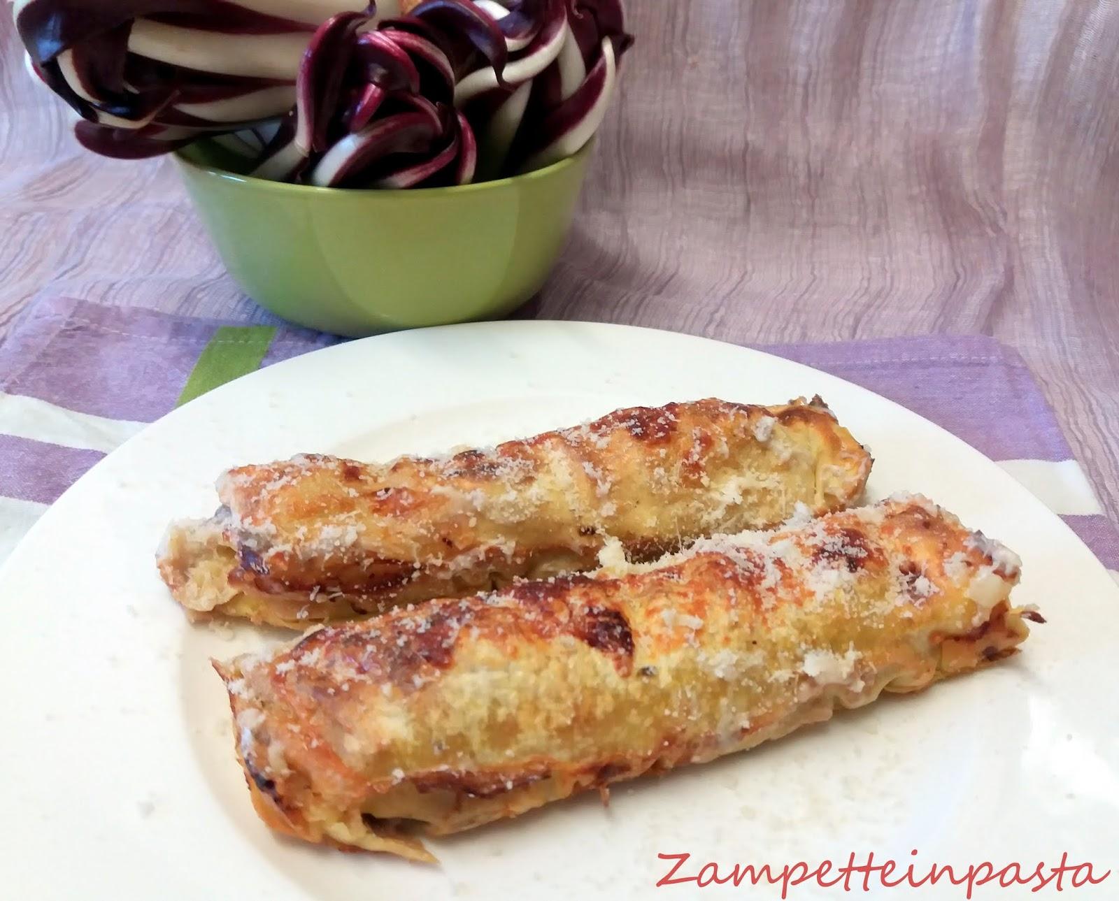 Cannelloni Al Radicchio Recipe — Dishmaps