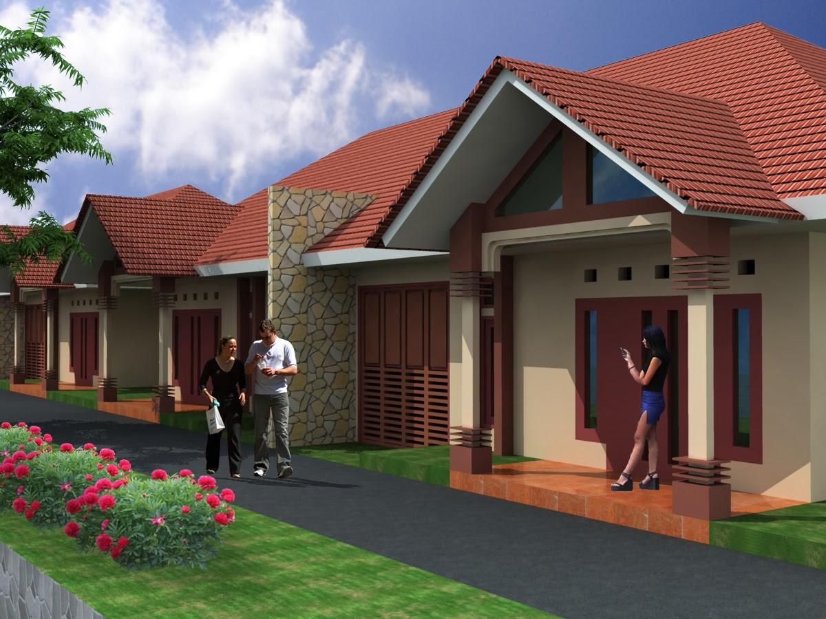model rumah cantik sederhana 5