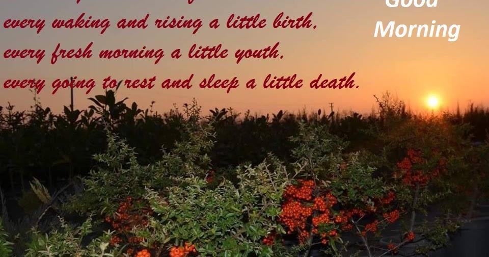 Good Morning Inspirational Messages : Inspirational good morning quotes beautiful messages