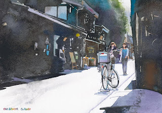飛騨高山 水彩画 Hida_Takayama Watercolor