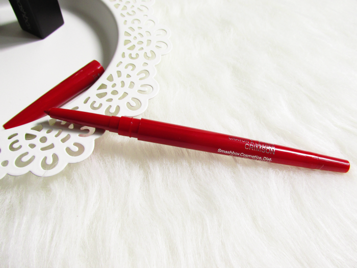 Review: smashbox - Always Sharp Lip Liner in Crimson - 0.27g - 21.99 Euro