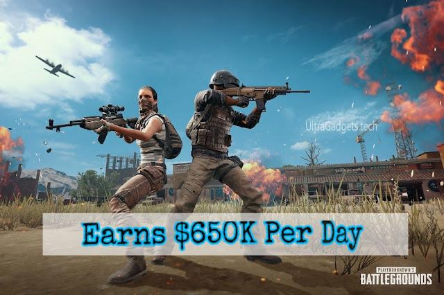 Top 3 Grossing Games Worldwide Earning $650K Each Day