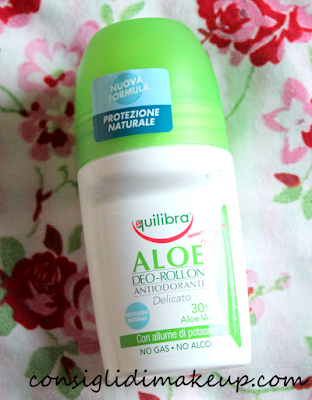 Review: Deodorante Roll on ALOE - Equilibra