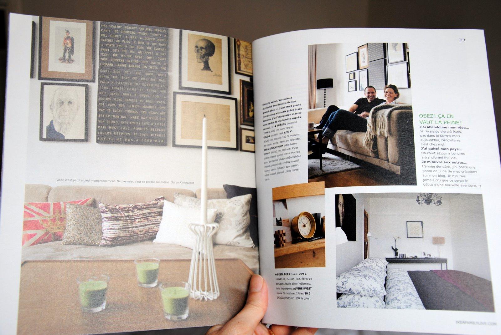 Audrey Walas: Ikea Family Magazine. - photo#2