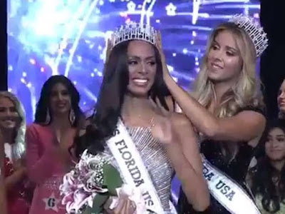 Miss Florida USA 2017 stripped of her title shortly after winning because she used professional make up artists
