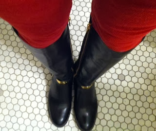 Arley riding boots for thin calves