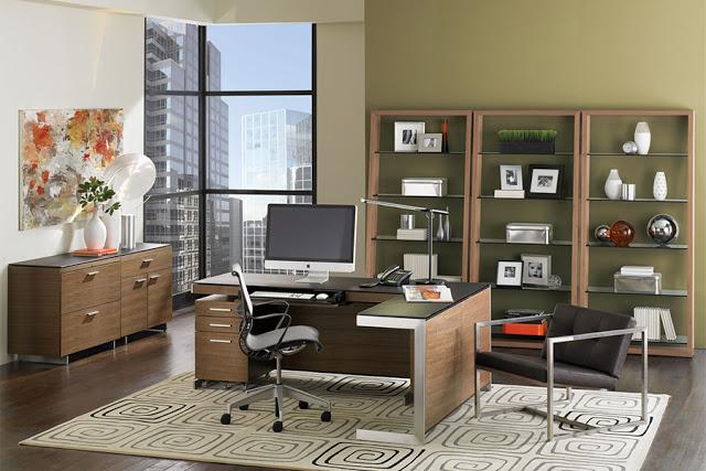 organisation de bureau de travail. Black Bedroom Furniture Sets. Home Design Ideas