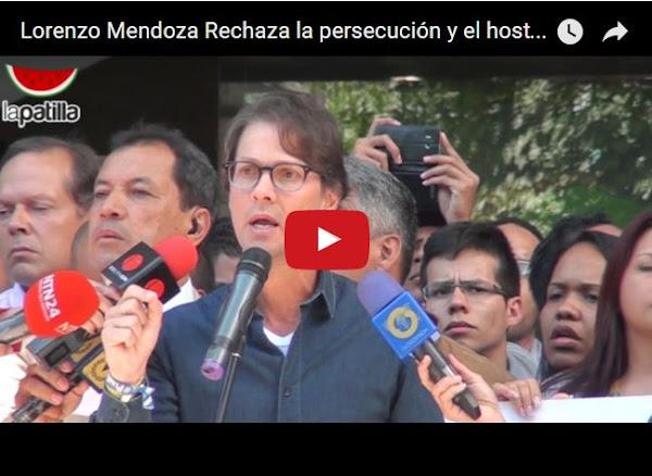 Cada vez suena más el nombre de Lorenzo Mendoza en la política