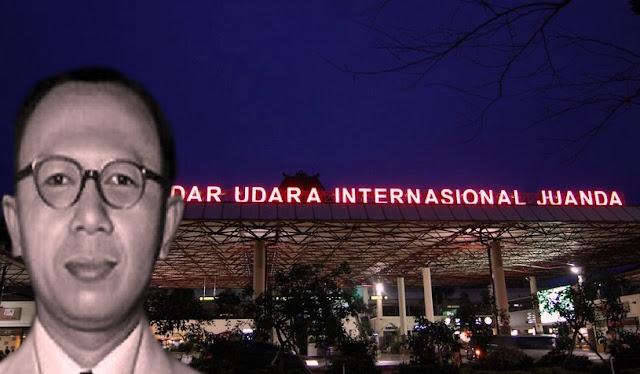 Djoeanda Pahlawan Sunda Yang Namanya Diabadikan Sebagai Nama Bandara di Jawa Timur
