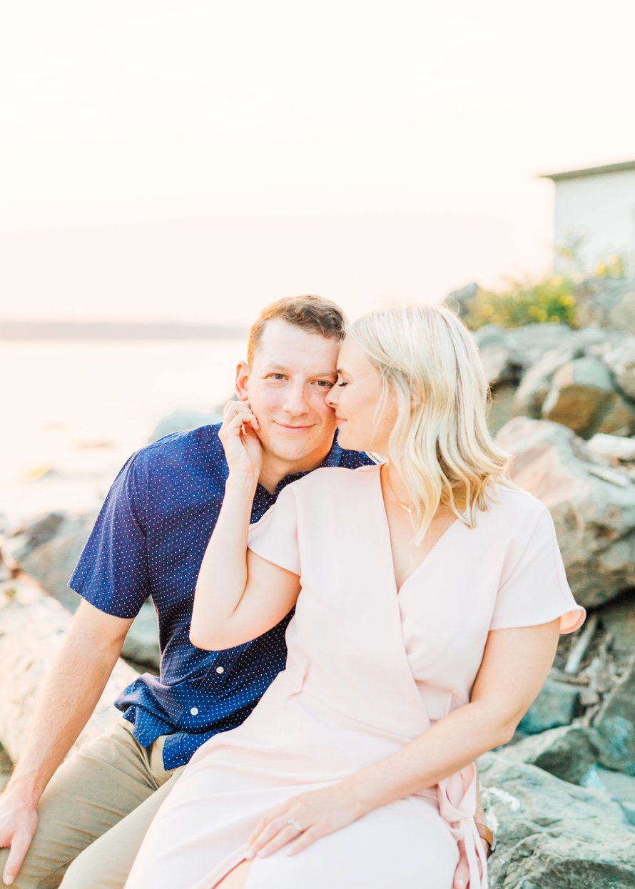 Discovery Park Engagement Session-Seattle Engagement Photographers-Something Minted Photography