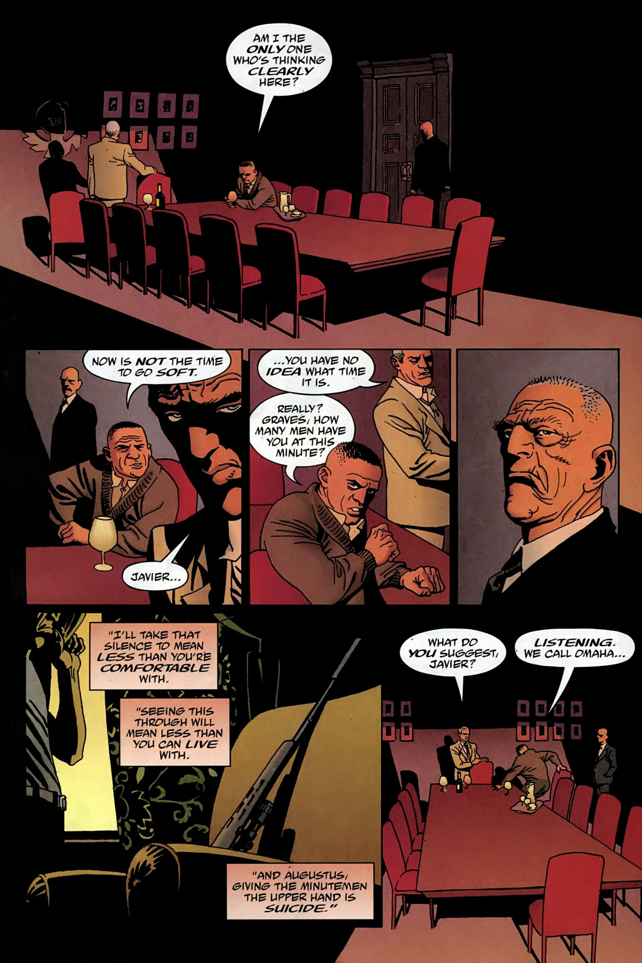 Read online 100 Bullets comic -  Issue #97 - 12