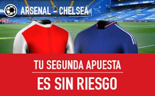 sportium Arsenal vs Chelsea segunda apuesta sin riesgo 24 septiembre