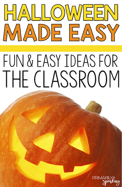 Fun and Easy Halloween Ideas for the Classroom