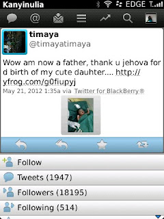 Timaya Now A Baby Daddy. 2