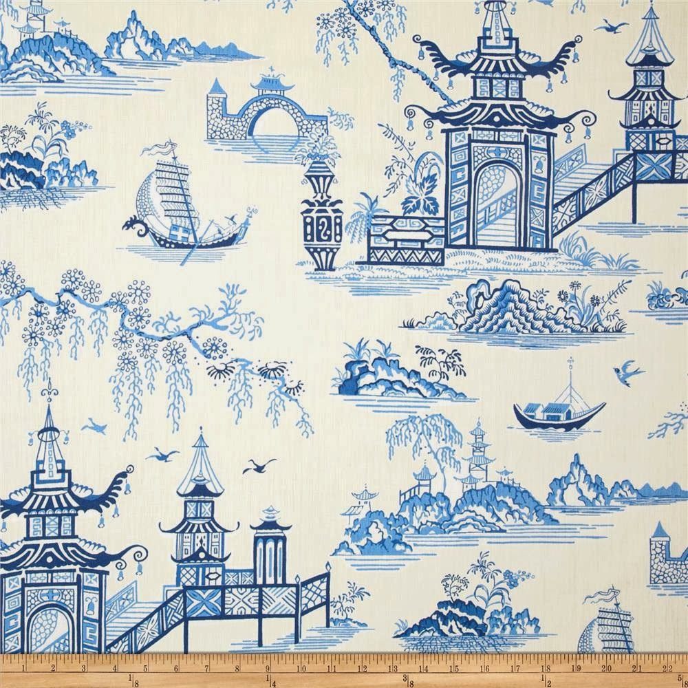 Aesthetic Oiseau Waverly Chinoiserie Chintz