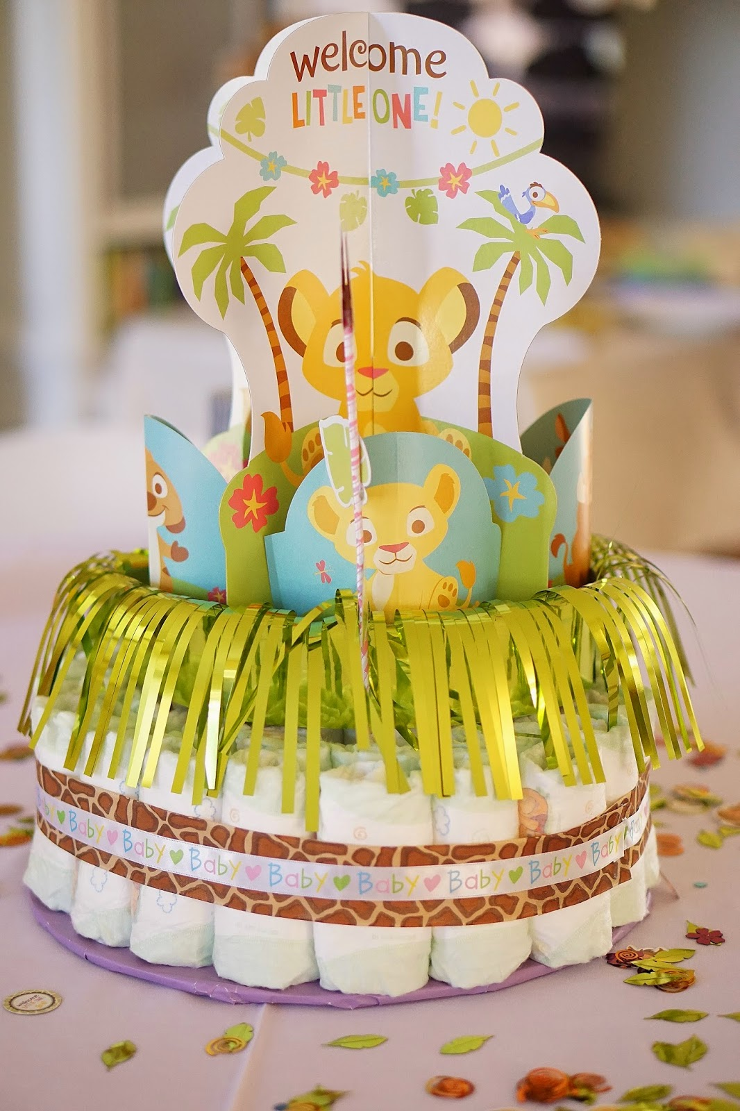 My Best Friend's Baby Shower | Lion King Theme | True ...