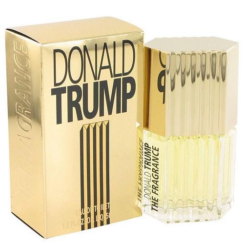 """""""É um sabor rosa, é um sabor de laranja e limão"""", disse o presidente eleito Donald Trump sobre uma de suas fragrâncias"""