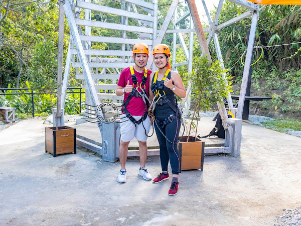 Challenge Yourself Zipping Across Penang Highest Rainforest @ The Habitat Penang Hill