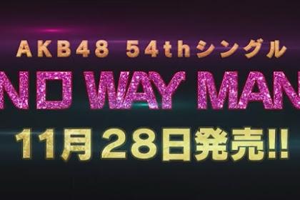 Single ke-54 AKB48 'No Way Man' dan 3 member IZ*ONE