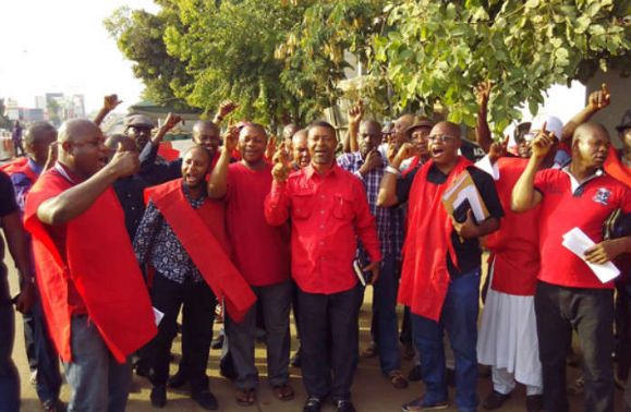 Image result for Oil workers begin three-day warning strike