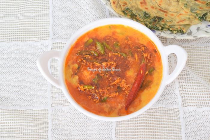 Dal Fry Tadka - Restaurant Style Toovar Dal Recipe - दाल फ्राई तड़का - रेस्टोरेंट स्टाइल तुअर दाल रेसिपी - Priya R - Magic of Indian Rasoi