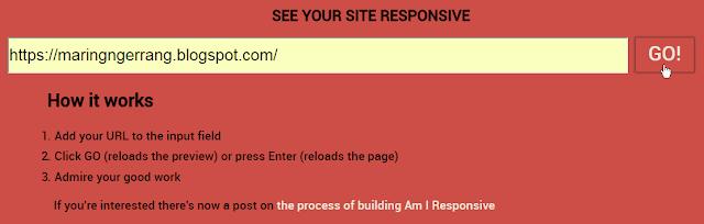 Cara Membuat Screenshot Responsive Template Blogger