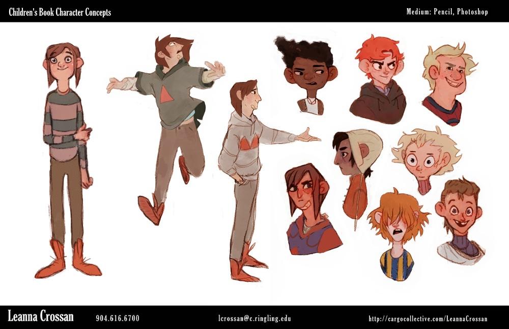 Character Design Portfolio Presentation : Dart f character design i with instructor philip
