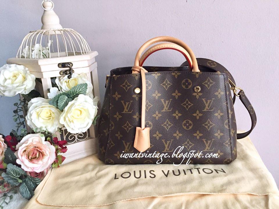 20df5920506b Louis Vuitton Montaigne BB
