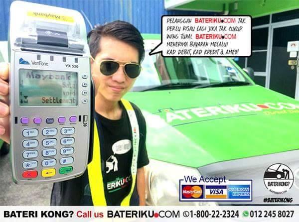 Bateri.com - Penghantaran & Pemasangan Bateri Kereta Percuma Bateri kereta kong - bateri.com ada penyelesaian