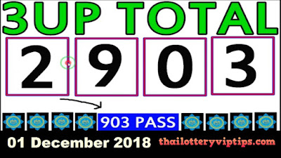 Thai lotto VIP best six line direct winning sets 01 December 2018