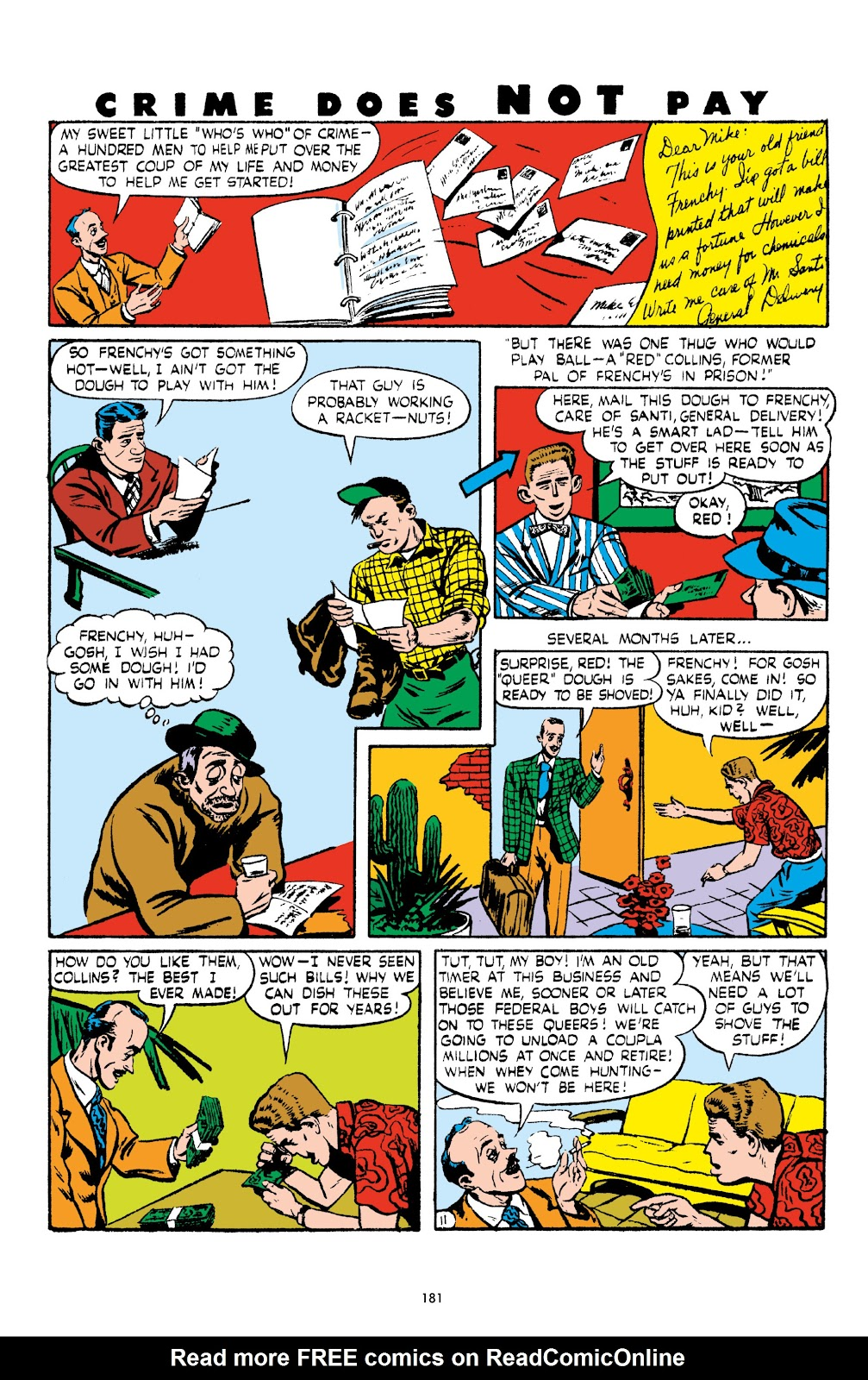 Read online Crime Does Not Pay Archives comic -  Issue # TPB 5 (Part 2) - 81