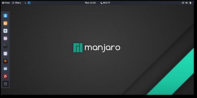 Manjaro Linux com GNOME