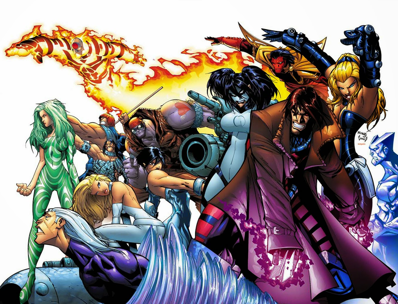 gambit and marauders