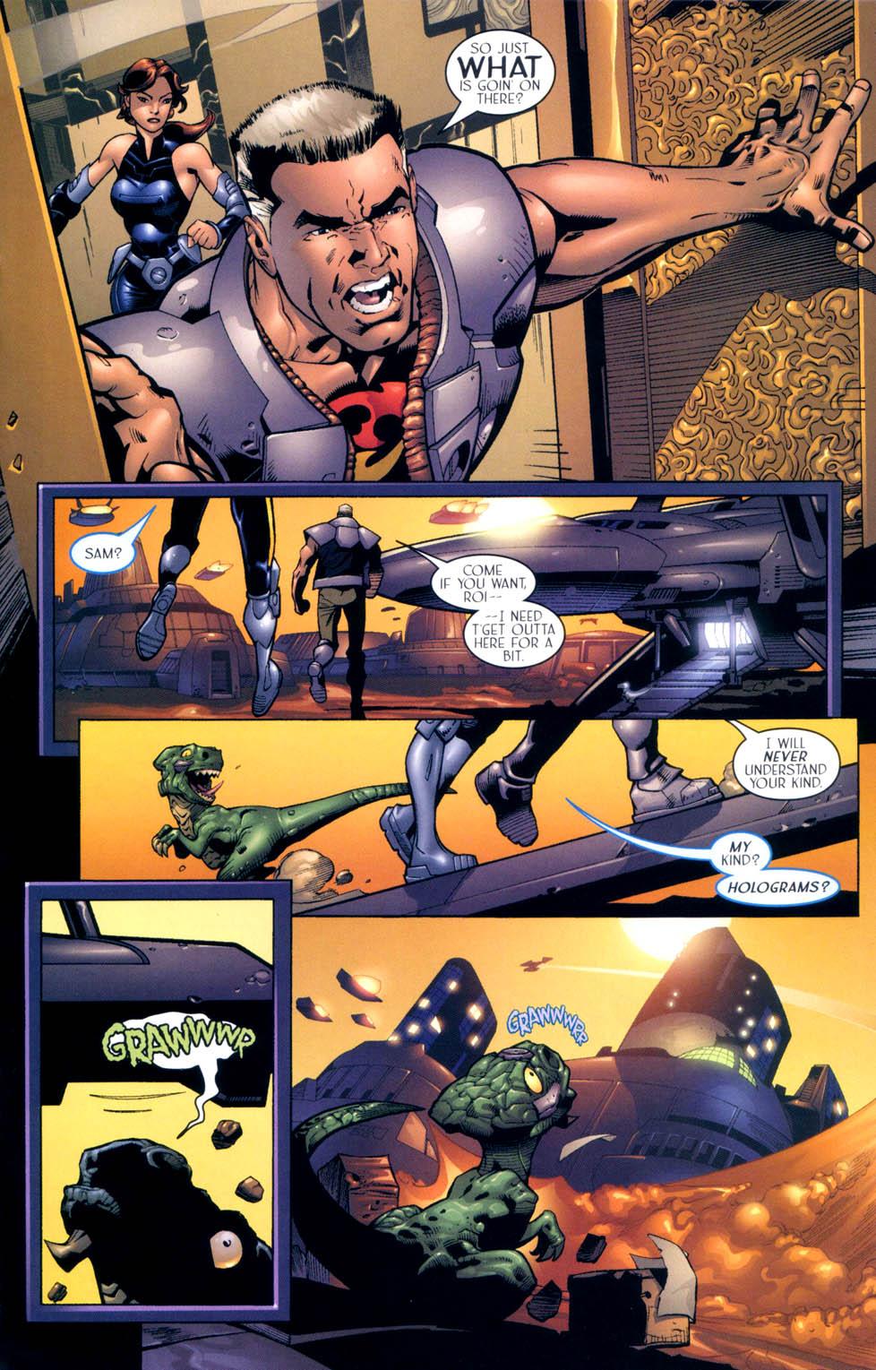 Read online Sigil (2000) comic -  Issue #10 - 14