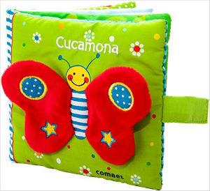 selección mejores cuentos bebés 0 a 2 años, cucamona combel tela