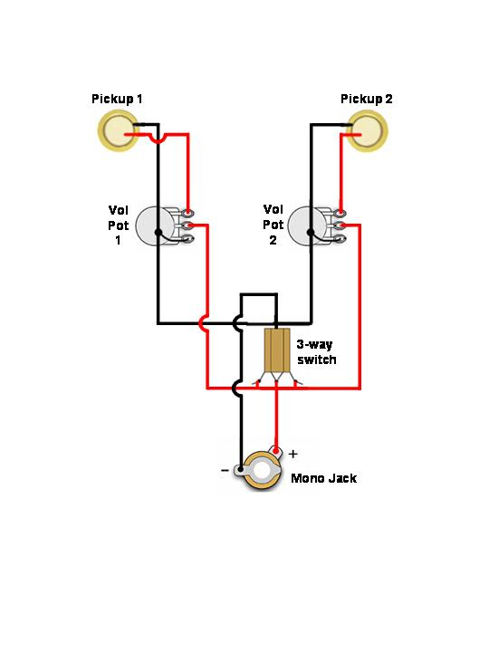 [DIAGRAM] P90 One Volume One Tone Wiring Diagrams FULL