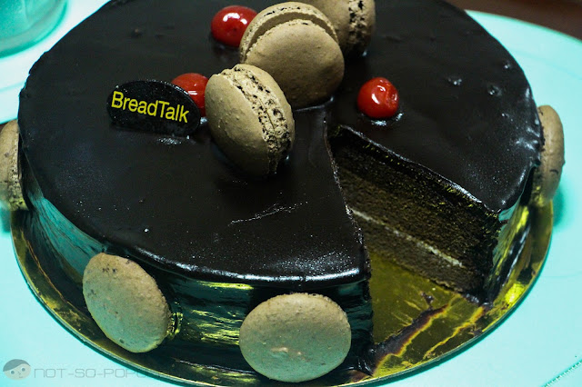 Boston Chocolate Cake of Bread Talk
