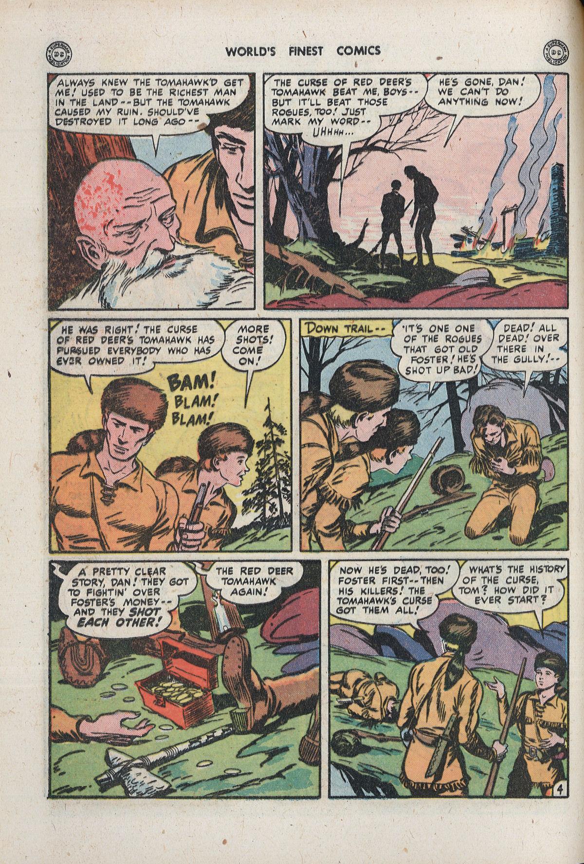 Read online World's Finest Comics comic -  Issue #33 - 40